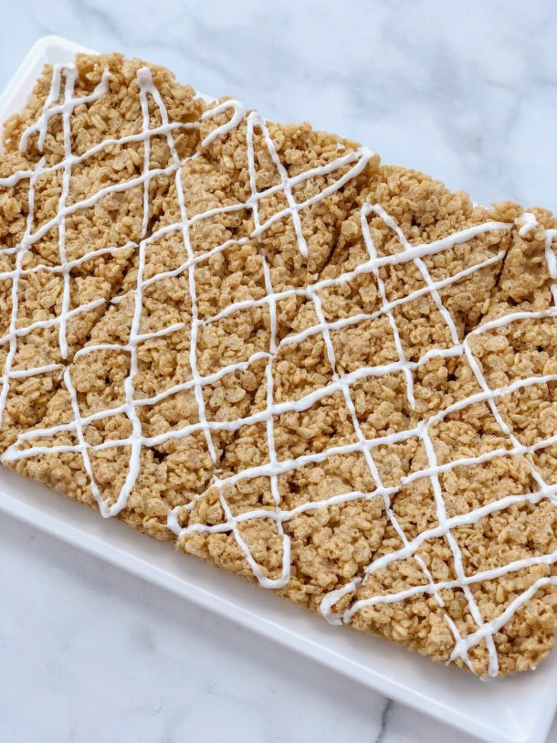 Vegan Pumpkin Spice Rice Krispies Treats Recipe