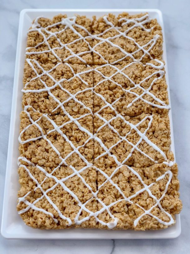 Vegan Pumpkin Spice Rice Krispies Treats