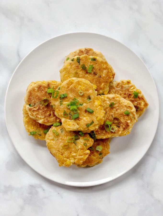 Dairy Free Egg Free Corn Fritters The Urben Life