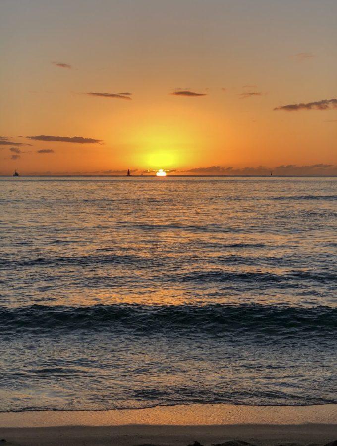 Hawaiian Sunset #TheUrbenLifeBlog