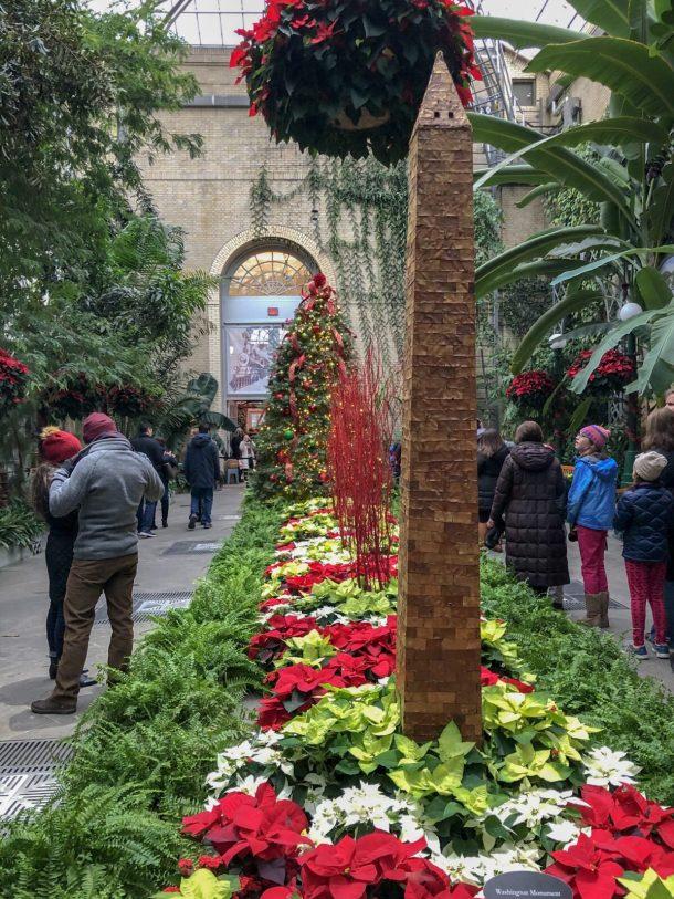 Holidays at United States Botanic Garden Washington DC