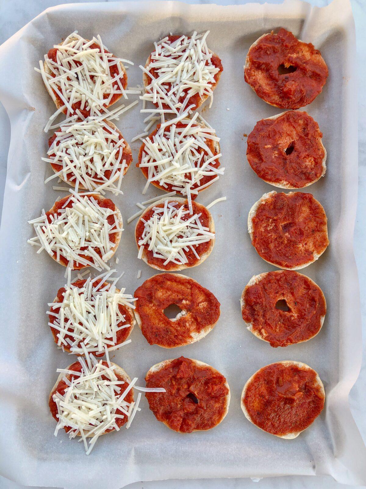 Make Homemade Vegan Bagel Bites