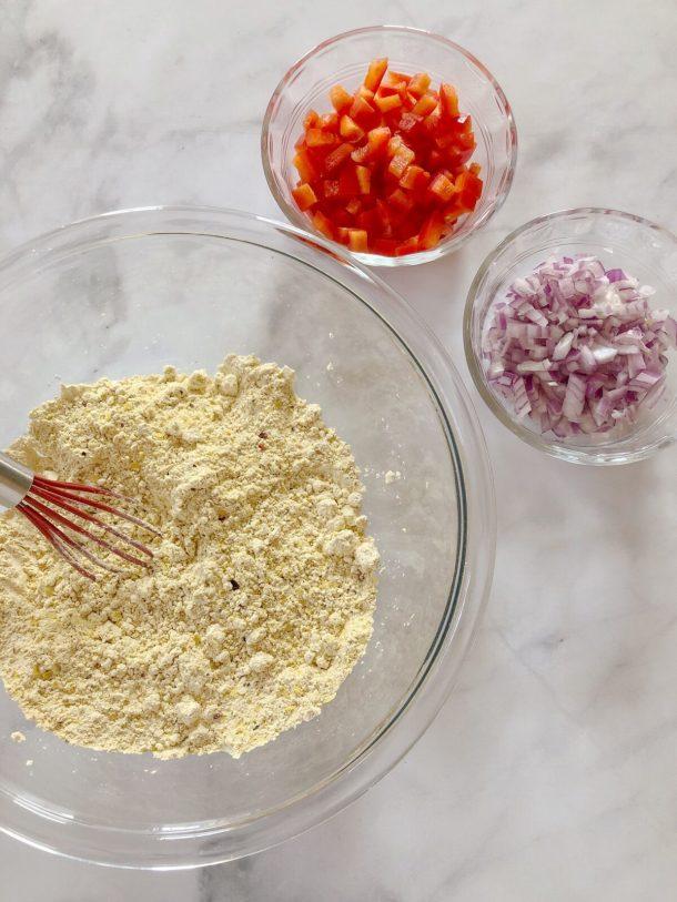 Eggless Breakfast Muffin Ingredients