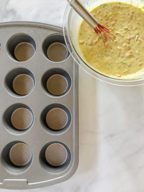 Eggless Breakfast Muffins Recipe