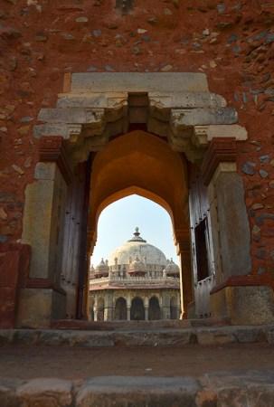 Isa Khan Niyazi's Tomb in the Humayun Tomb complex