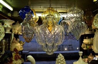 Lamp display, Venice