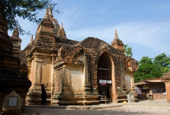 This beautiful temple, in Mingyaka, South of Bagan, boasts some of the most beautiful Jataka frescoes. Next door are the UNESCO certified, quadrilingual stone inscriptions that are considered the Rosetta Stone of Burma!