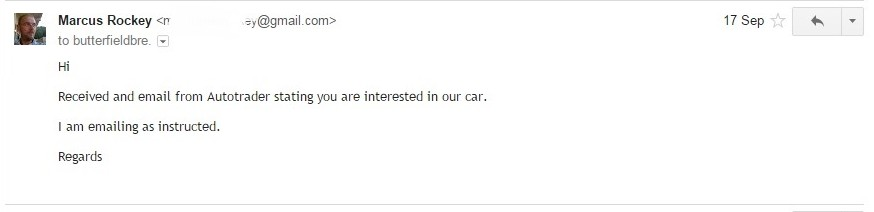Sell My Car on Autotrader Without Getting Scammed?