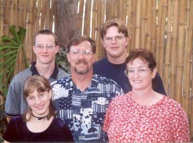 Brian, Jim, Darren, Heather, Judy Burdett - 2004