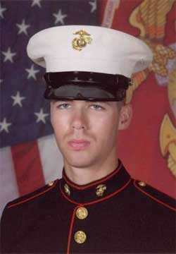 'Our Marine' - Private First Class Charles Palmer, at Graduation 2006