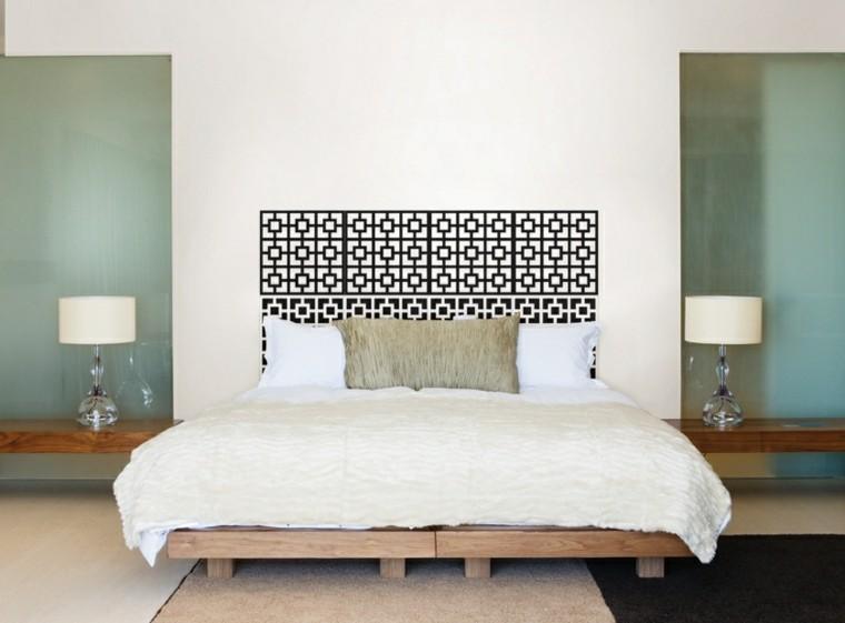 headboard bed wall vinyl