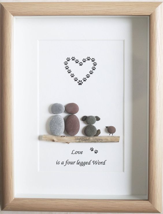 crafts with decorative stones