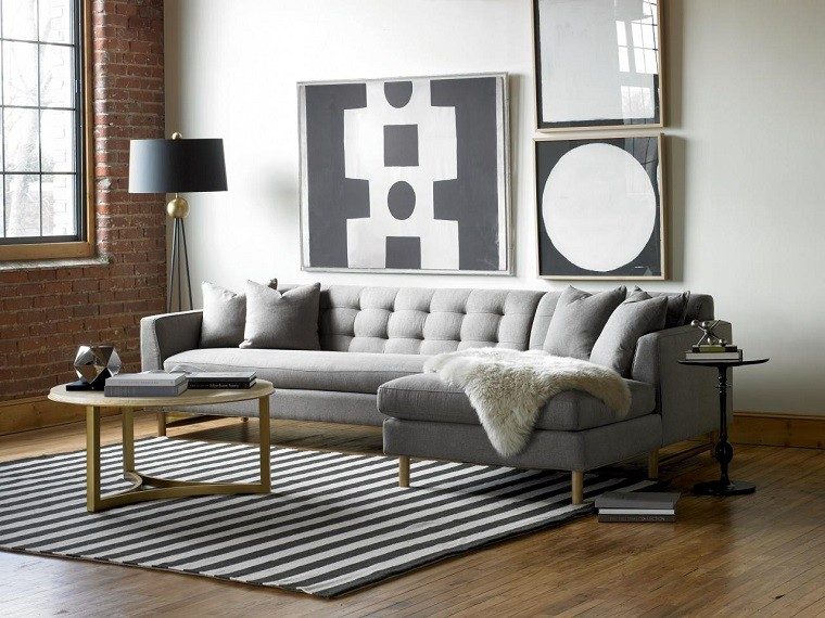 decorate with modern pictures white black ideas