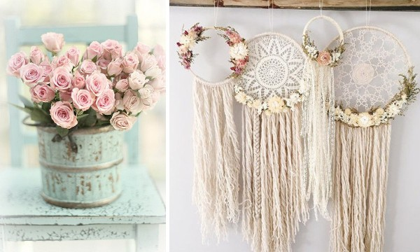 Vintage crafts to decorate the house