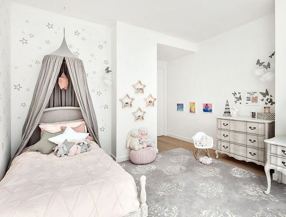 Children's rooms in white