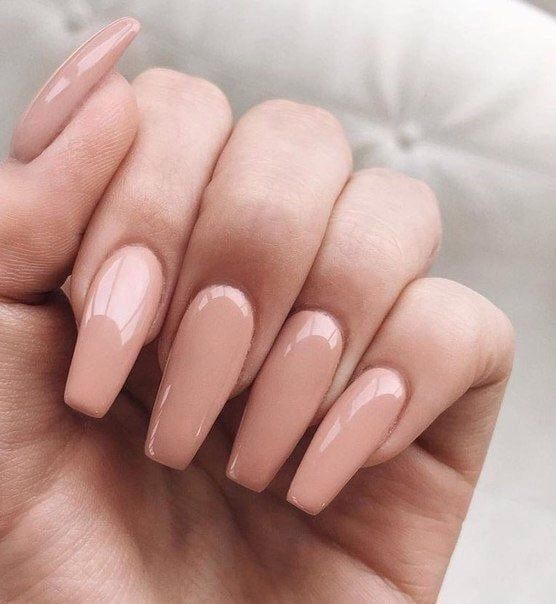 Coffin Acrylic Nail Ideas With Different Colors