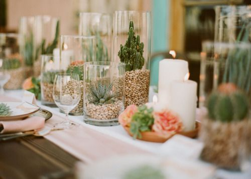 Decorate glass vases