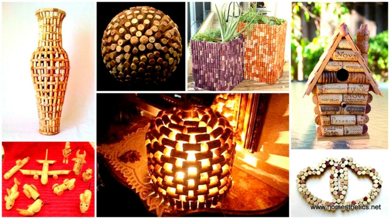 Ideas to decorate with cork