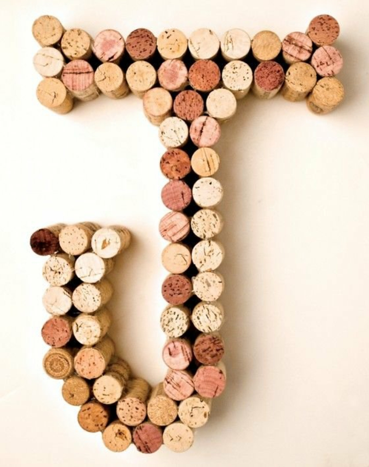 Use your wine corks as fridge magnets