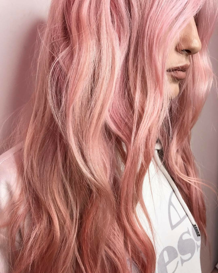 colors-of-hair-rose-gold