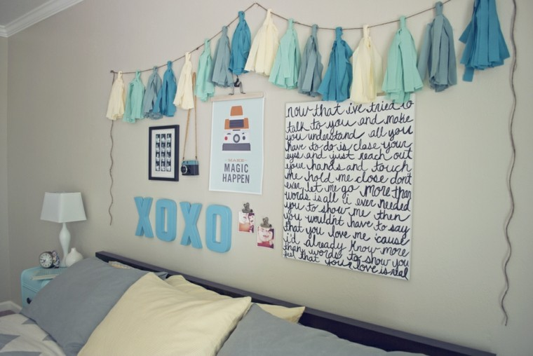 easy crafts to do blue color