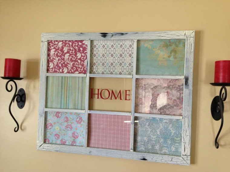 frame window wall hangings fabrics colors