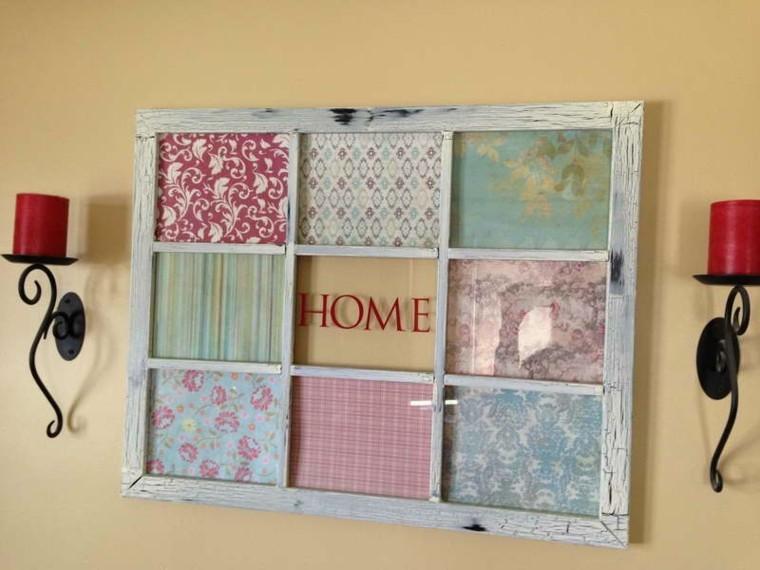 frame window wall hangings fabrics colors