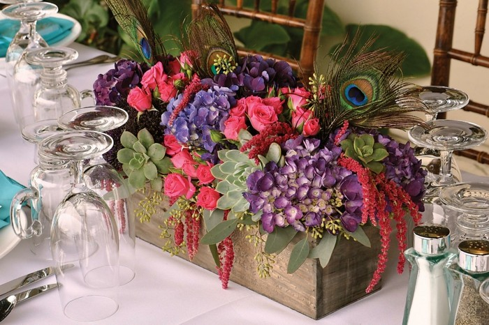 centers table weddings rustic style ideas