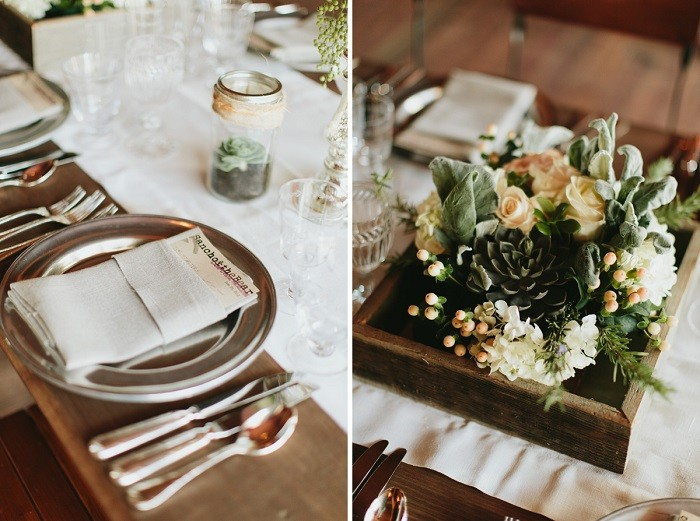centers table precious weddings candles plants ideas