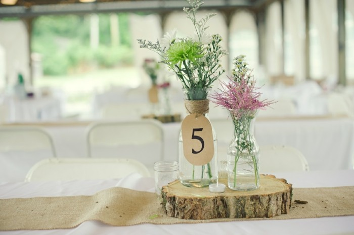 centerpieces for weddings simple wood ideas