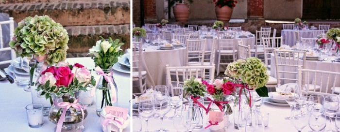 centers for weddings pretty ramantico ideas