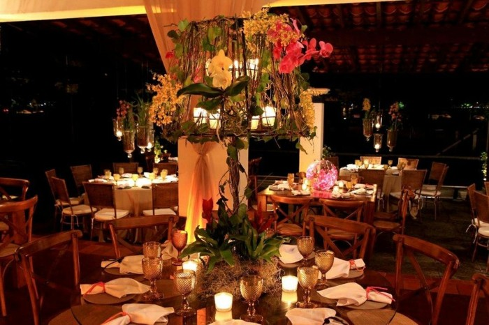 centerpieces for weddings dishes rustic original ideas