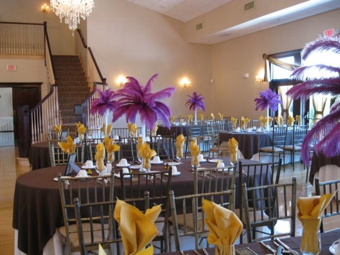 color purple center table color purple ideas