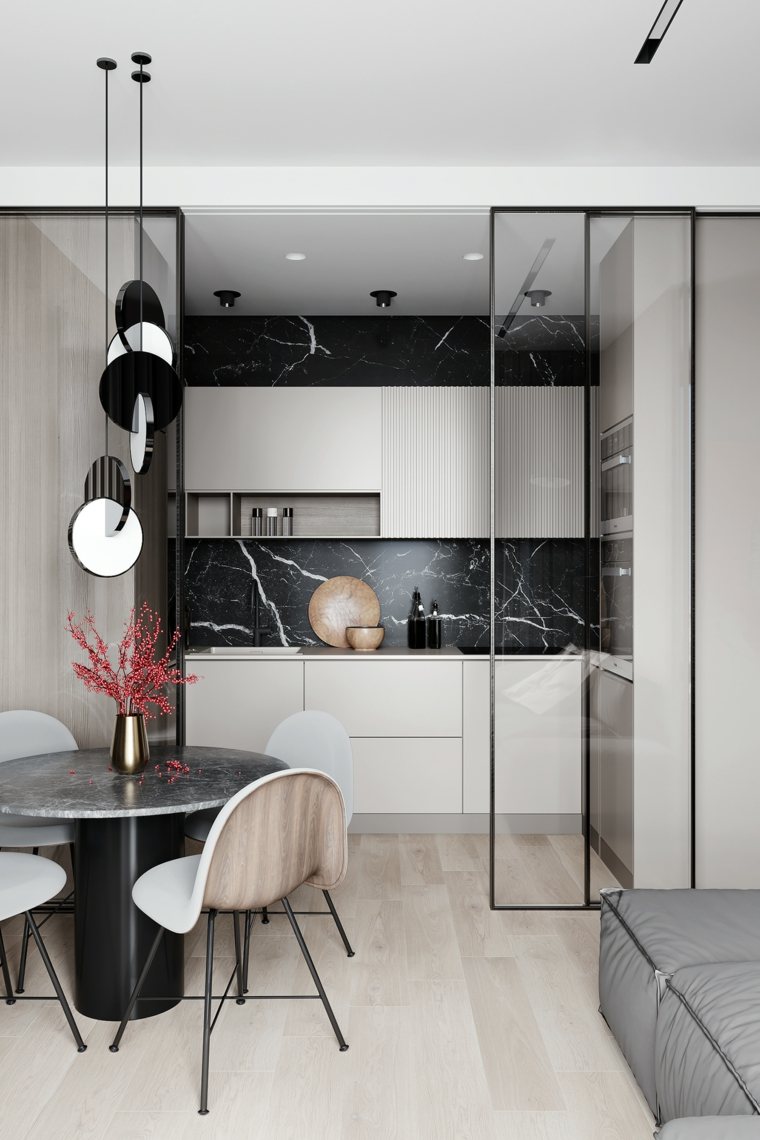kitchen-design-marble-black-style