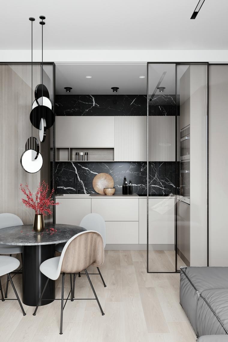 kitchen-design-marble-black-style