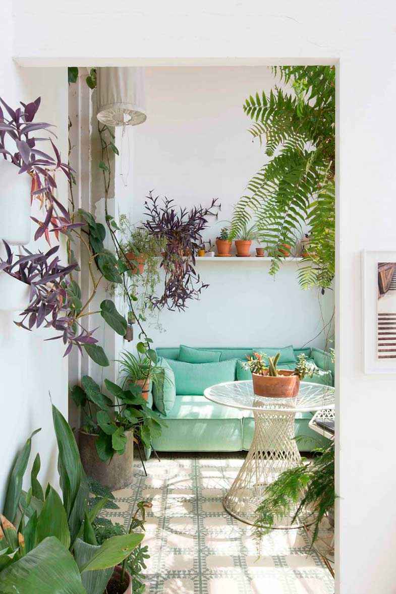 Ideas for decorating the terrace - Photo: Bart Kiggen