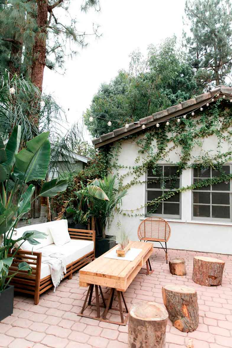 Ideas for decorating the terrace - Photo: © Angelica Marie