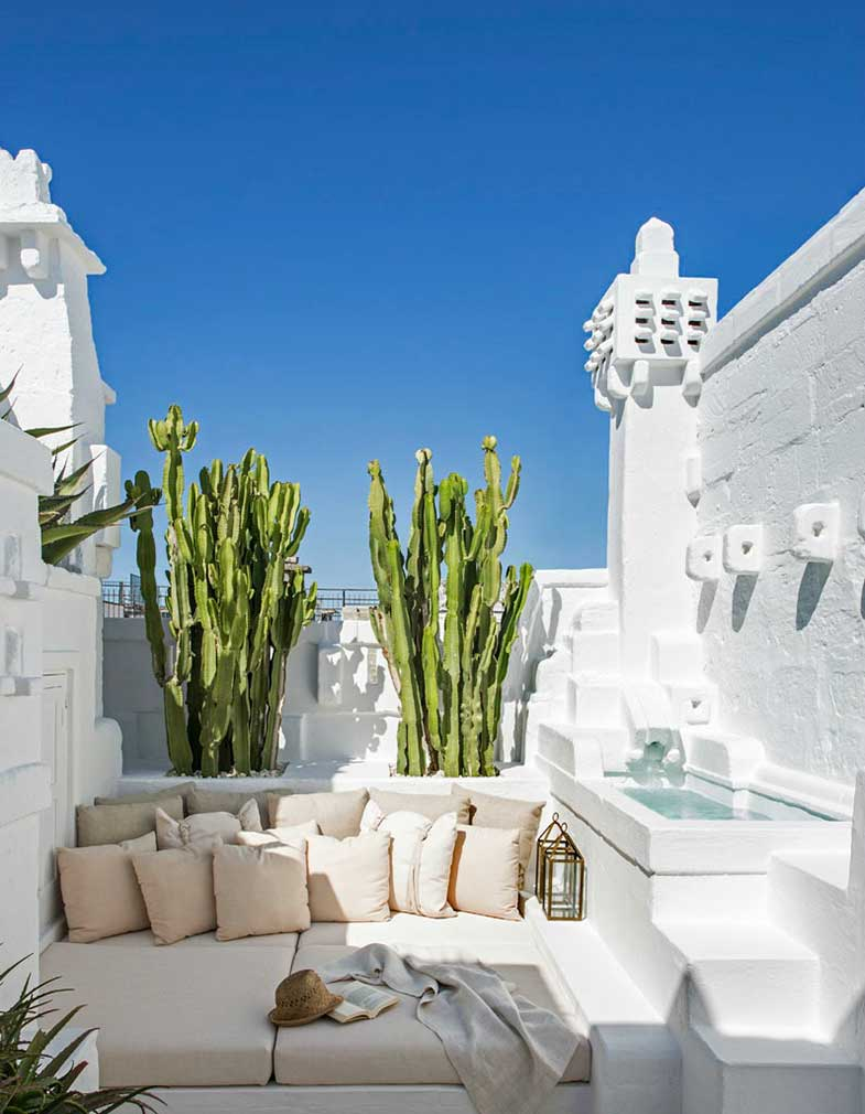 Ideas for decorating the terrace - Photo: Giorgio Baroni
