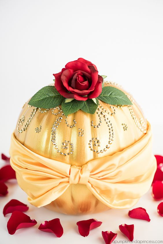 Decorate Romantic Pumpkins