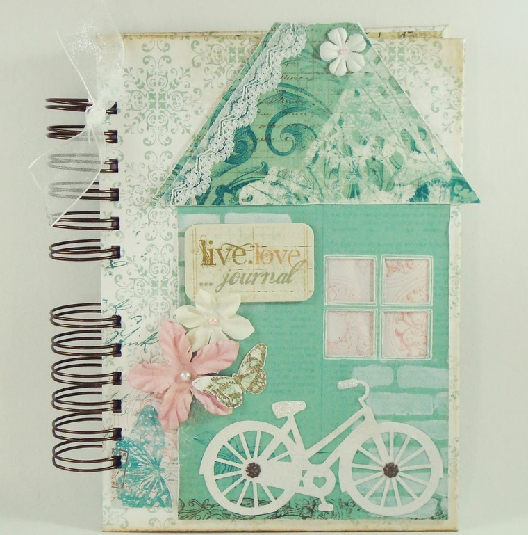decorated notebooks
