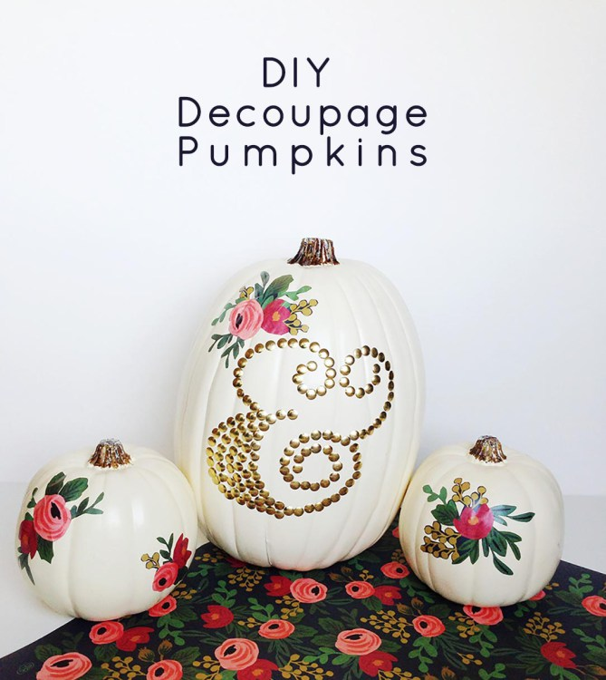 Decorate Romantic Pumpkins