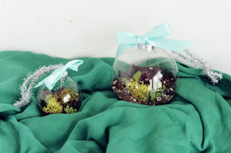 original terrarium Christmas crafts