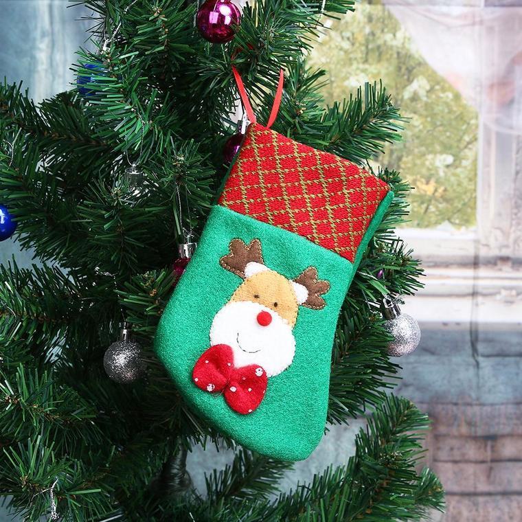 reindeer christmas socks
