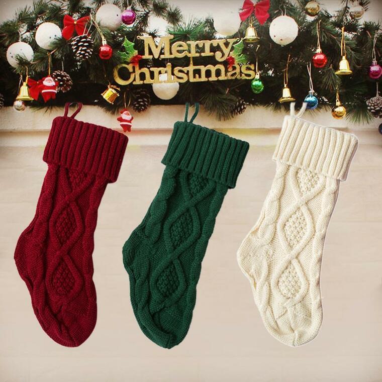 subtle christmas socks