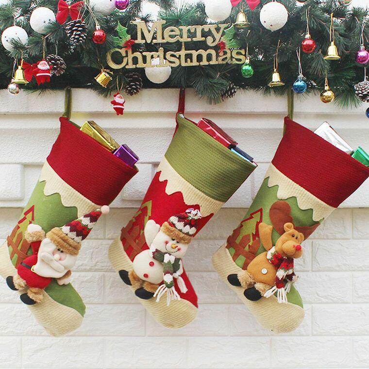 Christmas socks decorate