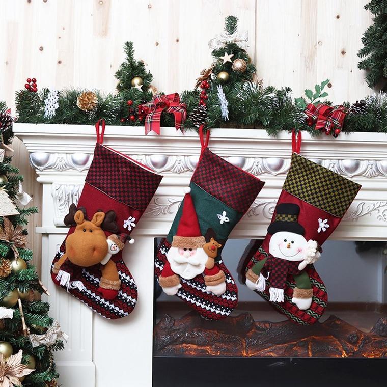christmas socks boots