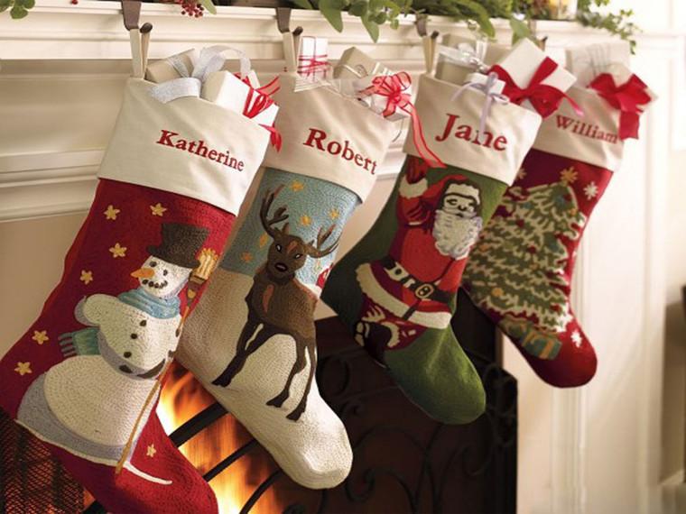 personal christmas socks