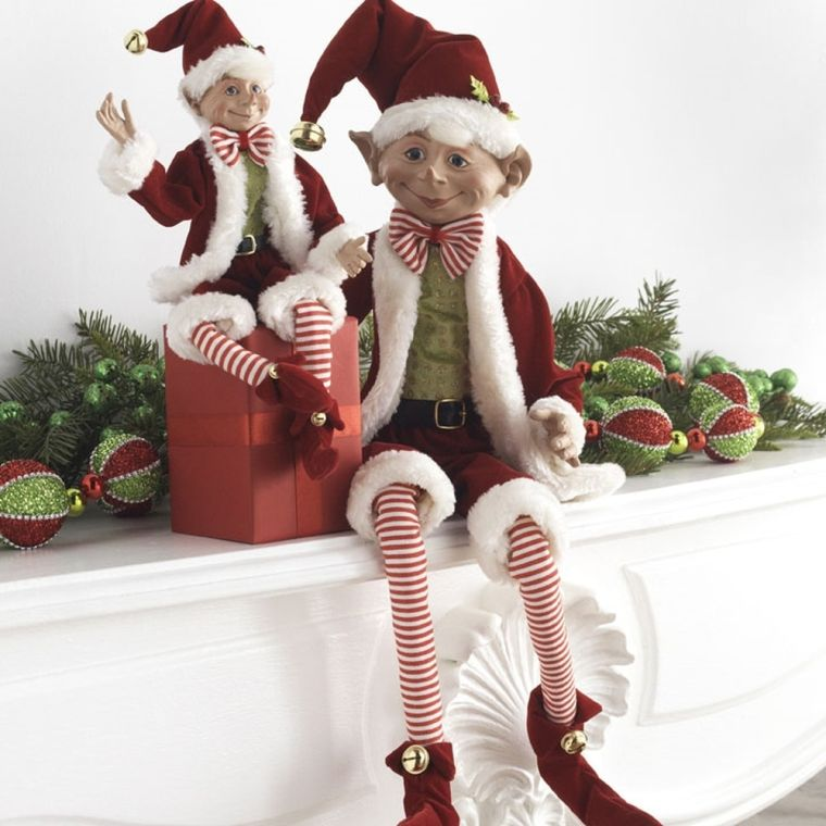 Christmas elves shelf