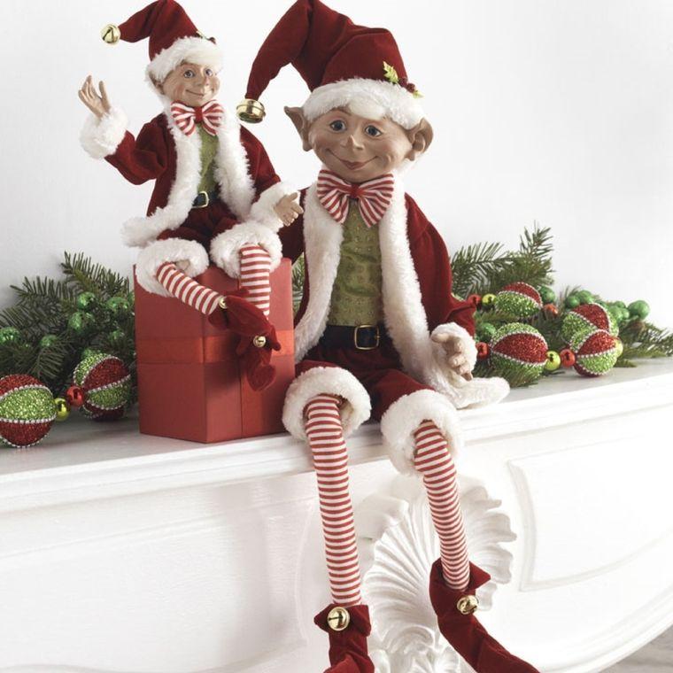 Christmas elves shelf