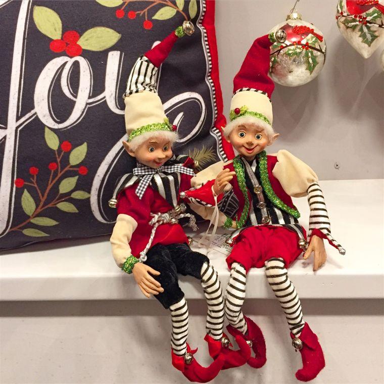 Christmas elves together